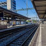 Trein - Foto Train Station in Geneva by Craig Stanfill