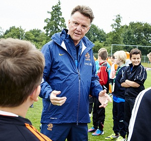 Louis van gaal - Foto FLickr ING Nederland