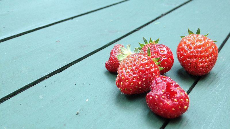 Aardbeien - Flickr.com, CC-licentie, smith