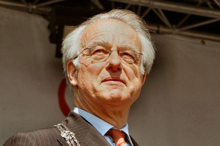 Jozias van Aartsen als burgemeester van Den Haag in 2014. Foto: Flickr.com, CC-licentie, Gerald Stolk