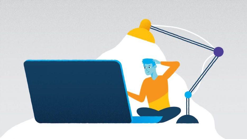 Still uit video van de MBO Raad over een leven lang ontwikkelen