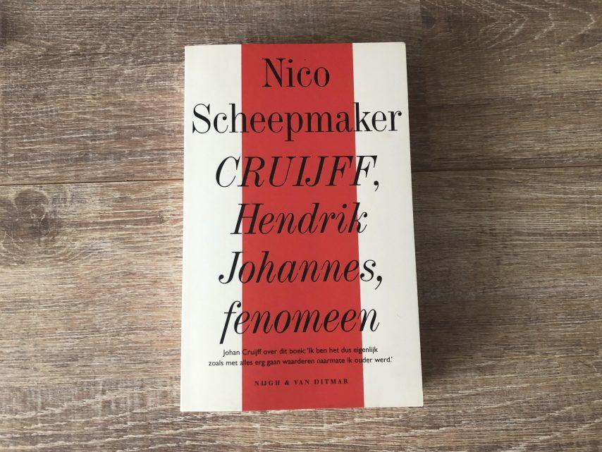 Afbeelding van het boek 'Cruijff, Hendrik Johannes, fenomeen' door Nico Scheepmaker
